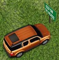 Honda sur herbe
